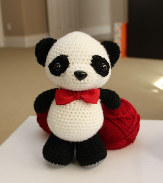 Amigurumi Crochet Pattern - Dumpling the baby panda | Patrones de ...