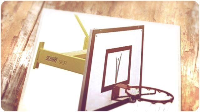 Schiavi Sport 2435 ART-Wall Installation Minibasket Fixed,  A Pair [Mixed]…