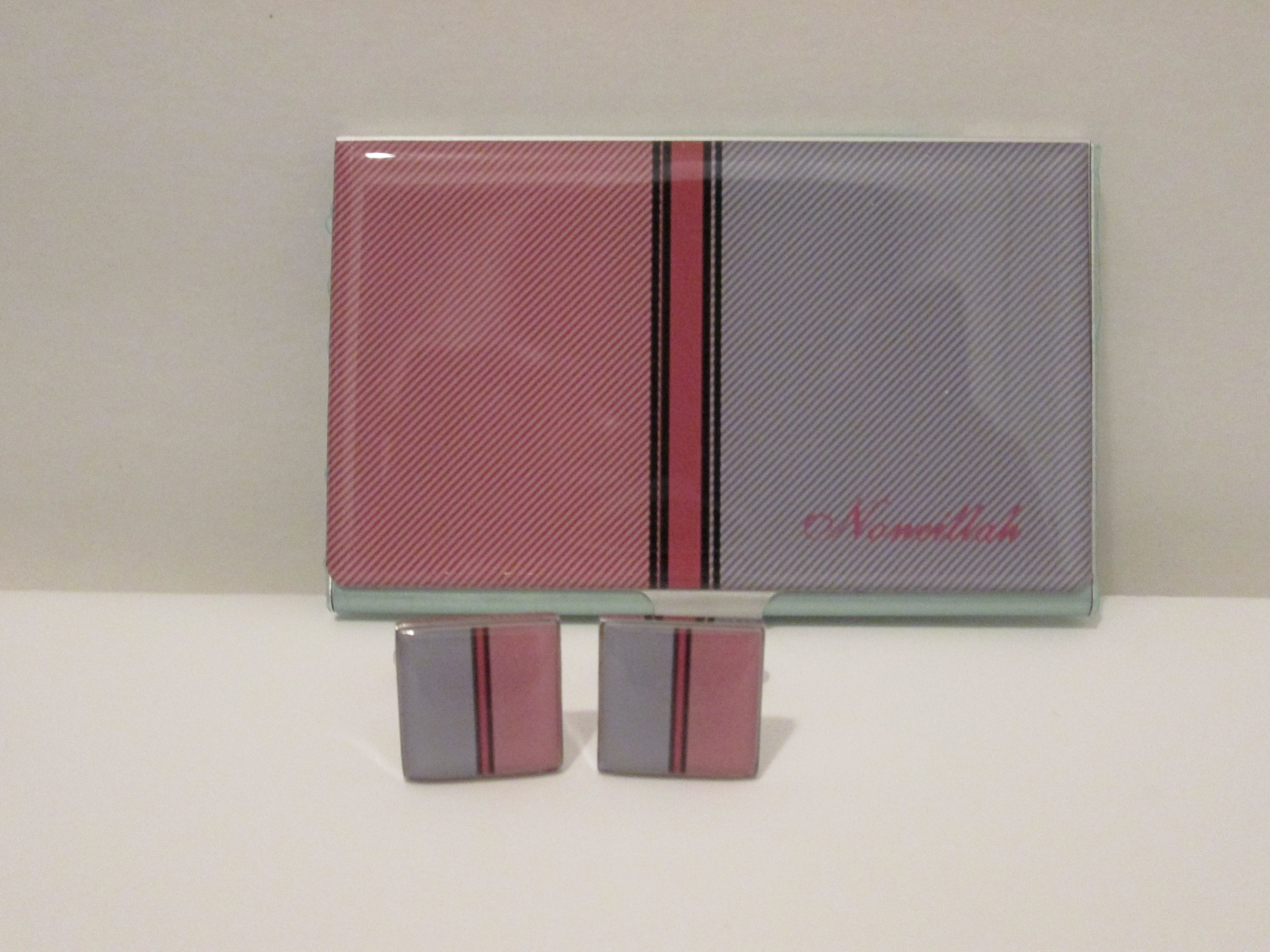 Noneillahs stylish business card holder and square cufflinks noneillahs stylish business card holder and square cufflinks some of the money for this purchase will go to the deshon johnson college scholarship magicingreecefo Images