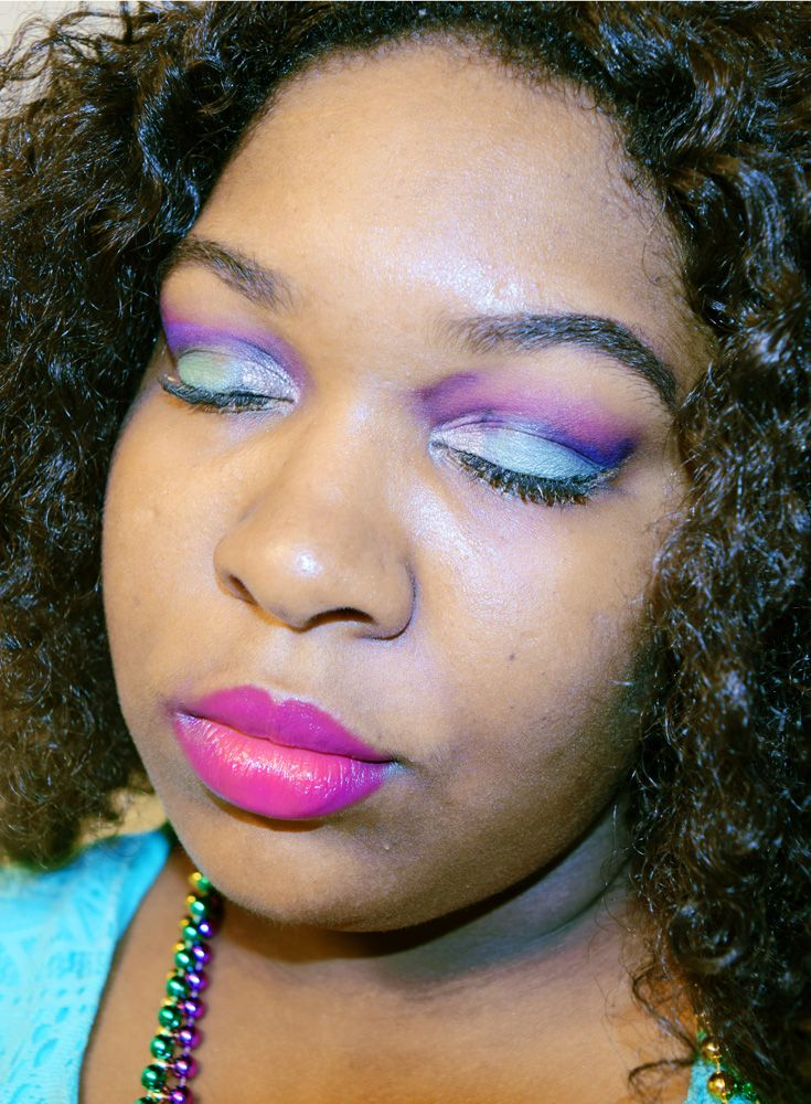 Mardi Gras Makeup Tutorial with Affordable Products | by Desire Chanteuse, Alabama fashion/beauty/lifestyle blogger | Mobile, Alabama & New Orleans, Louisiana Mardi Gras
