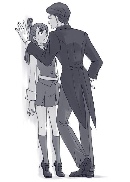 Арт аниме влюбленные