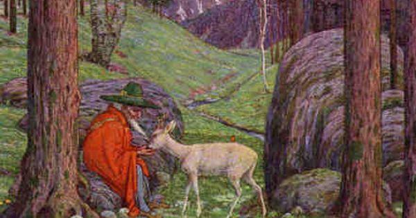 "der berggeist | The most famous of Madlener's paintings is ""Der Berggeist  ... | El señor de los anillos, Anillos, Señor"