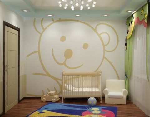 Painting Wall Murals, Wall Murals, Nursery, Baby Room Part 37