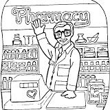 Pharmacy Coloring Pages Pharmacy Coloring Pages For Kids