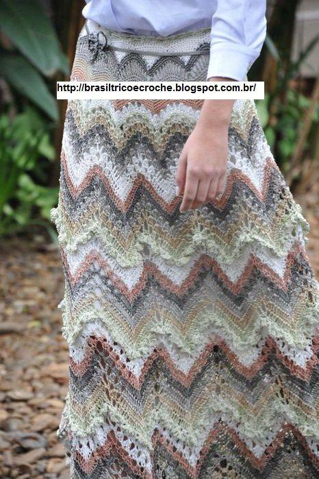 Crochet skirt - - beautiful!