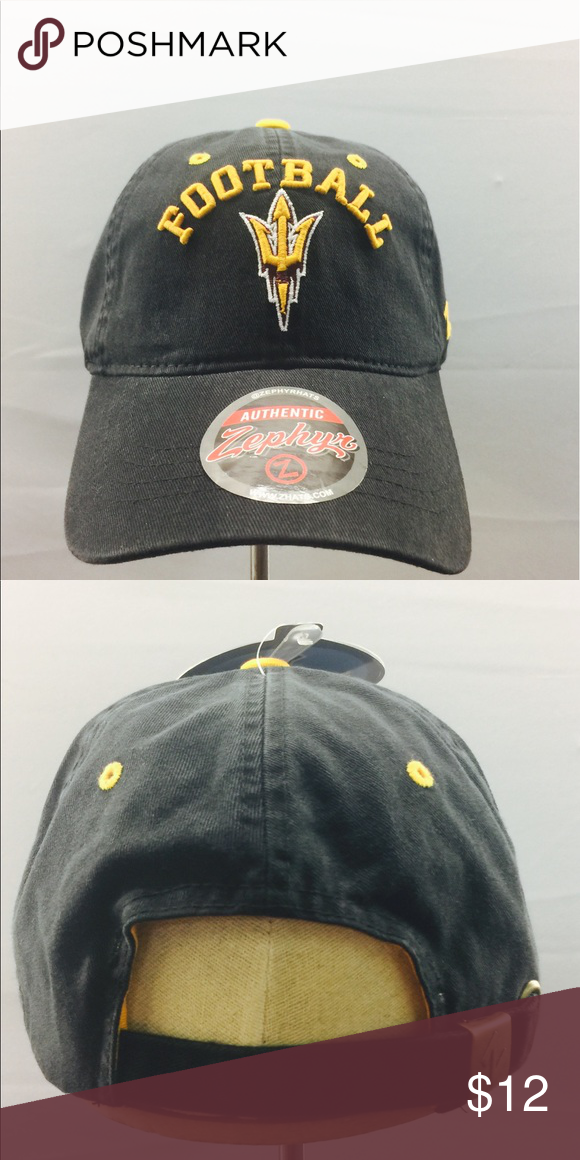 Arizona State Dad style hat by Zephyr! Arizona State black dad style hat by  Zephyr. Calling out ASU Football!! Amazing hat for women or men!! 09179cffcdb