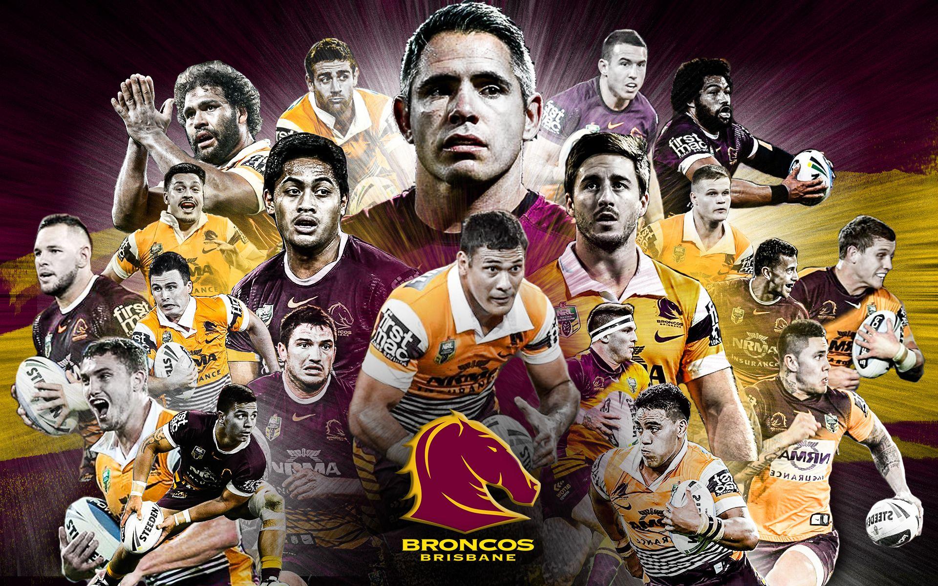Brisbane Broncos Wallpaper Sports Graphic Broncos