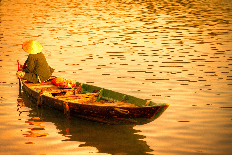 Vietnam Sunset - Photography Fine Art Print, Wall Picture, Hoi An ...