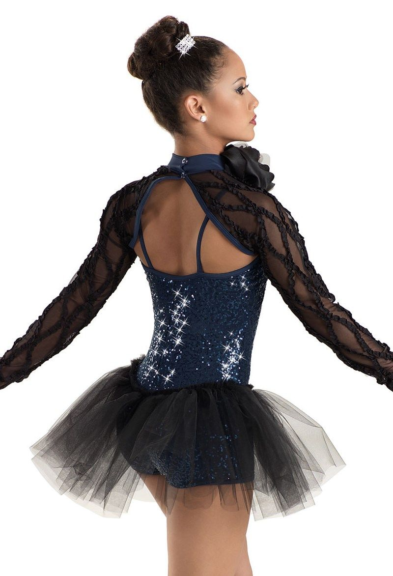 1c488f8db Sheer Shrug Sequin Biketard -Weissman Costumes | dance | Pinterest ...