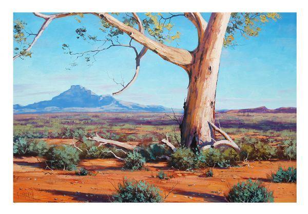 Pin on Art. Paintings of Australian Gum Trees