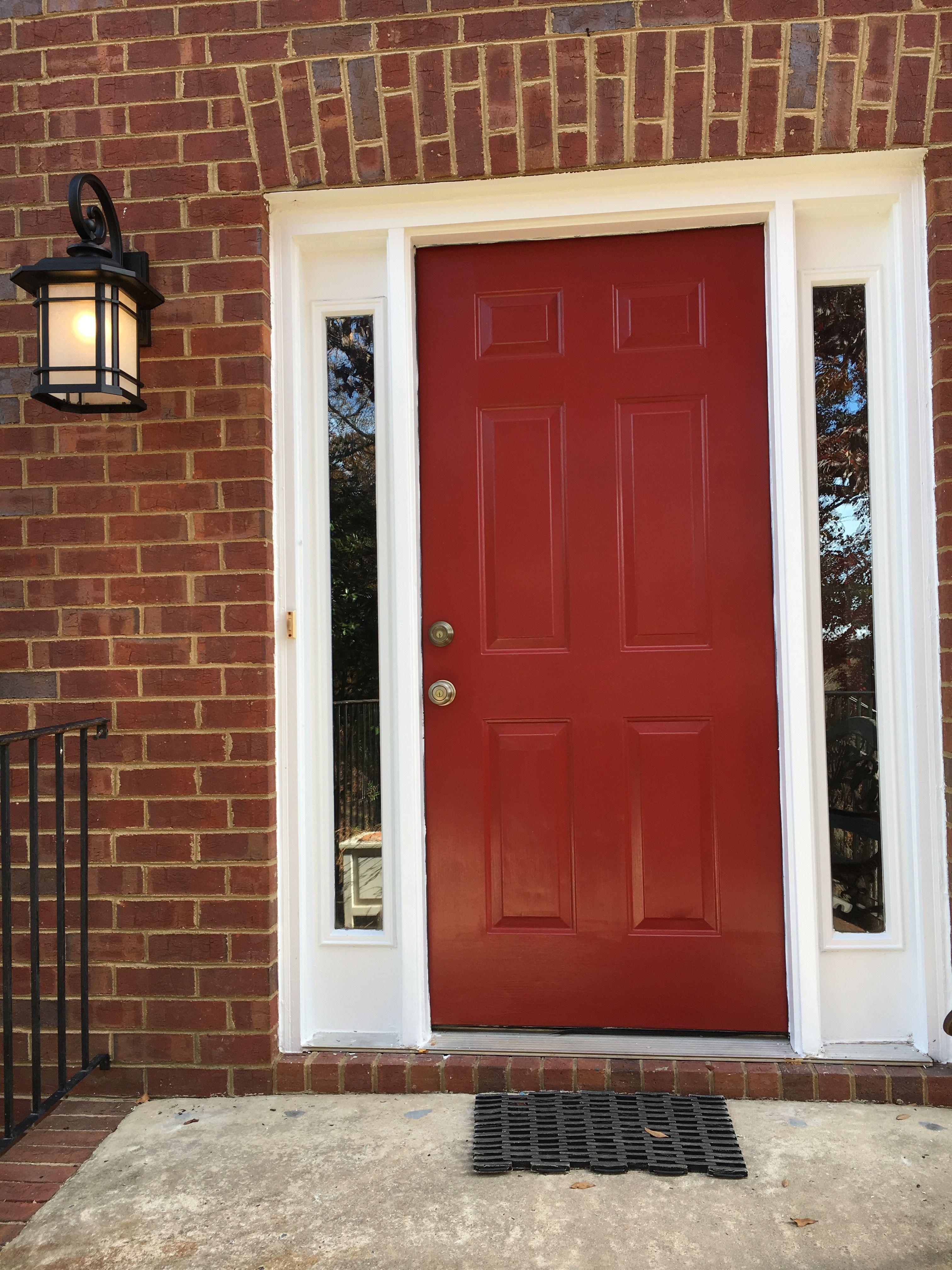 Light Fixtures After Painting Door