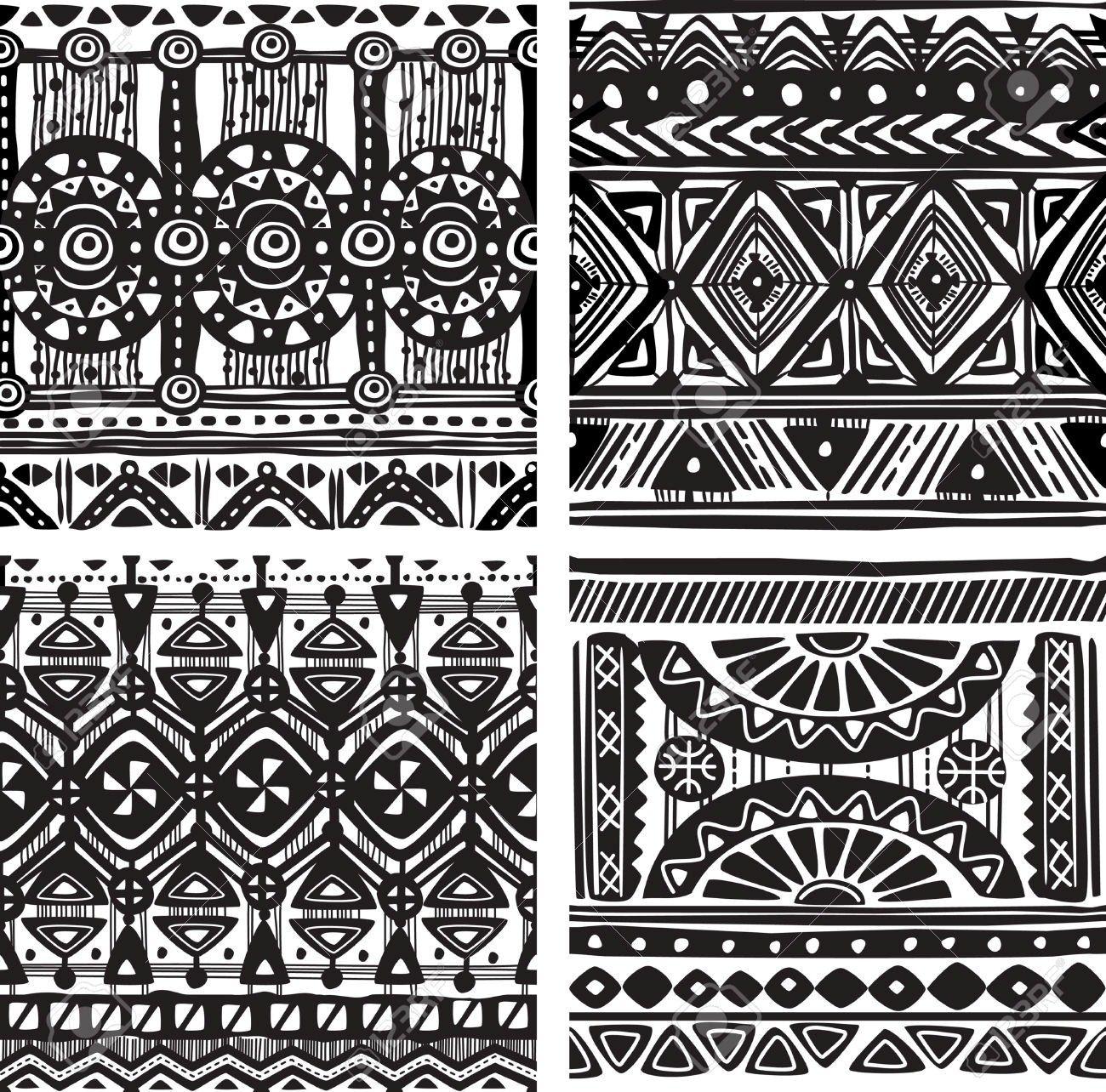 tribal patterns African | african tribal patterns black ... - photo#39
