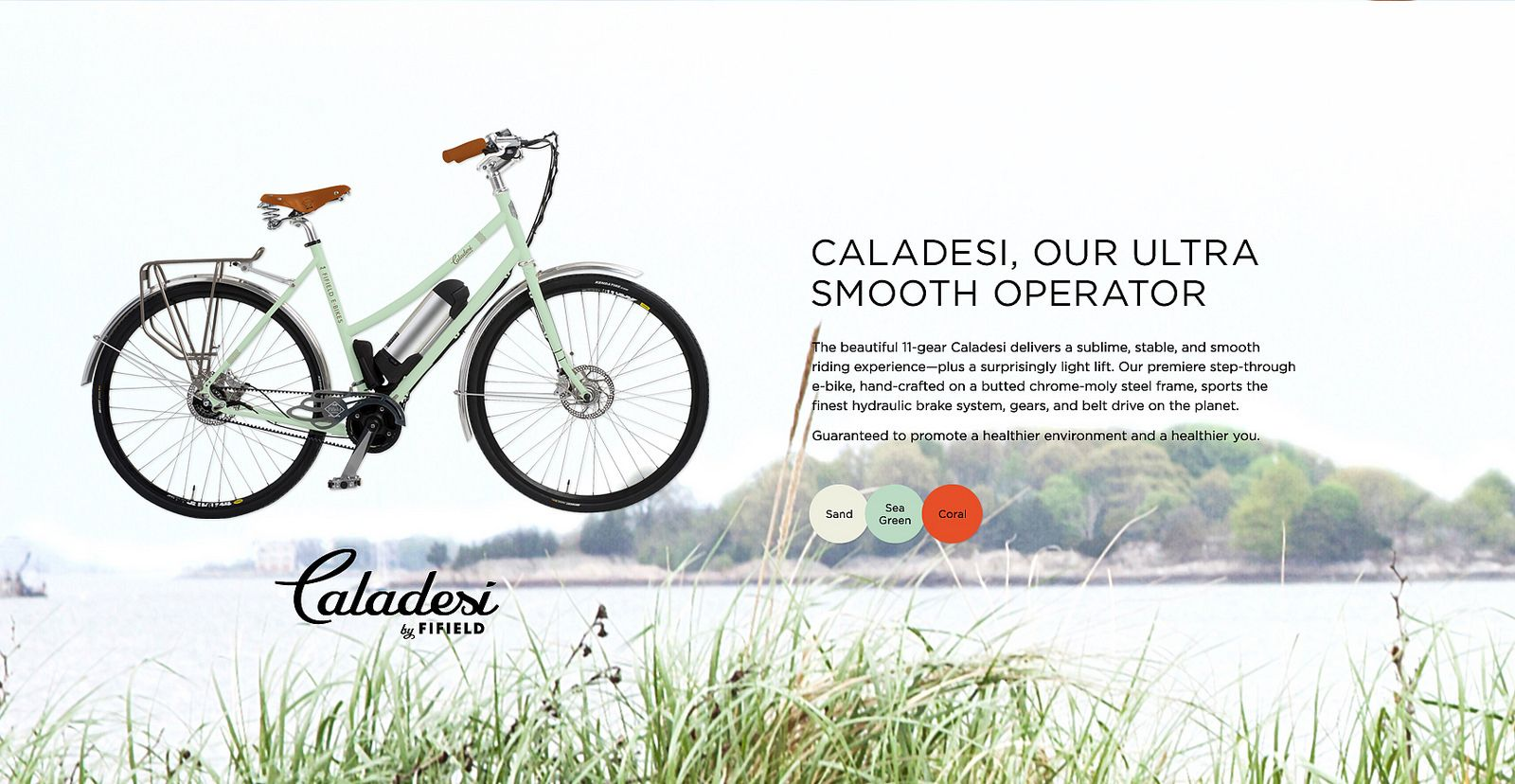 Caladesi A Premiere E Bike By Fifield Bike Gear Drive