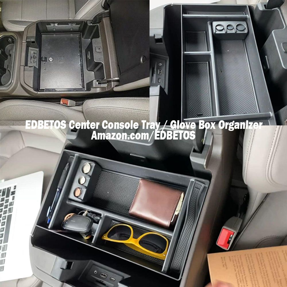 2019 2020 Gm Truck Vehicle Center Console Organizer Tray In 2020