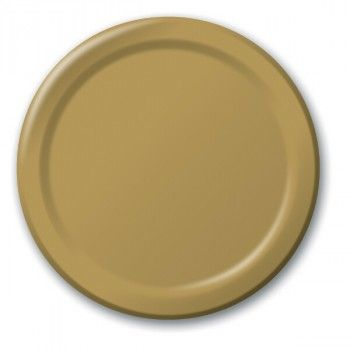 Gold Large Plain Paper Plate   The Party Cupboard  sc 1 st  Pinterest & Gold Large Plain Paper Plate   The Party Cupboard   Amy Green - 2017 ...