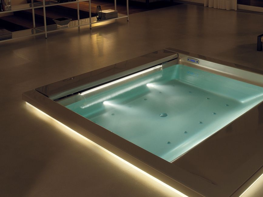 Hydromassage built-in mini pool spa SEASIDE | T07 - TEUCO GUZZINI ...