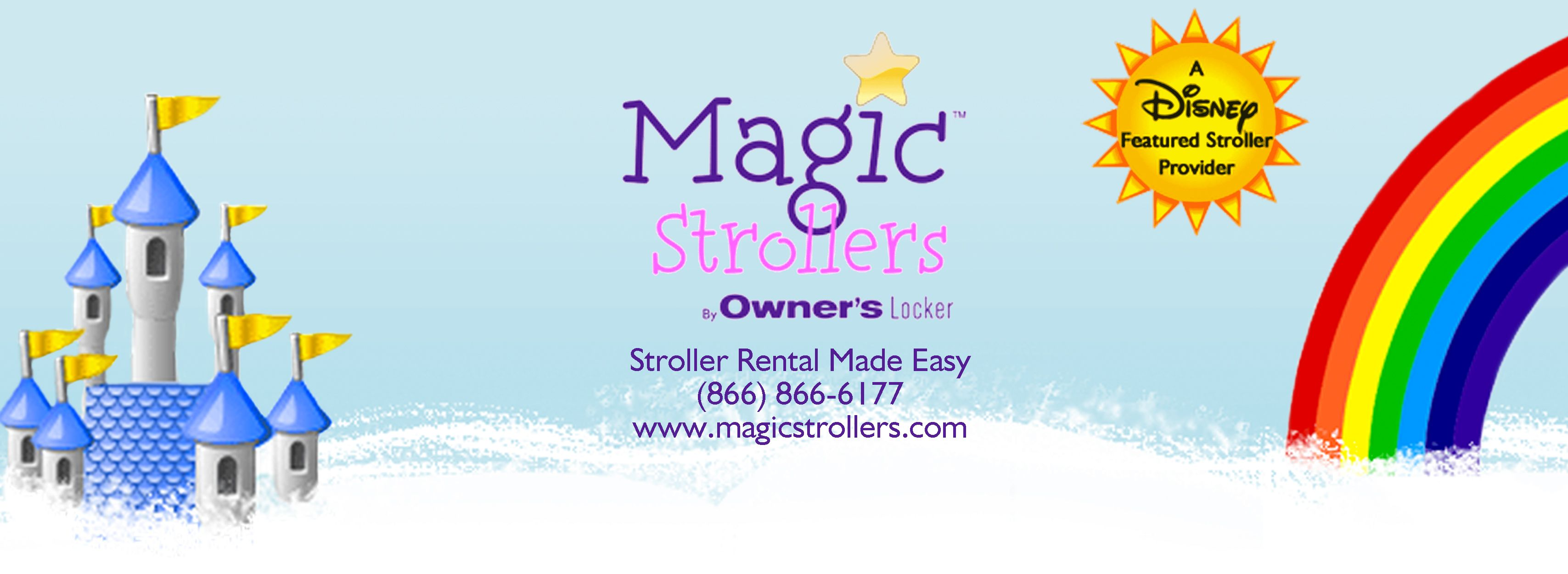 Magic Strollers™ - Orlando Stroller Rental By Owner's Locker