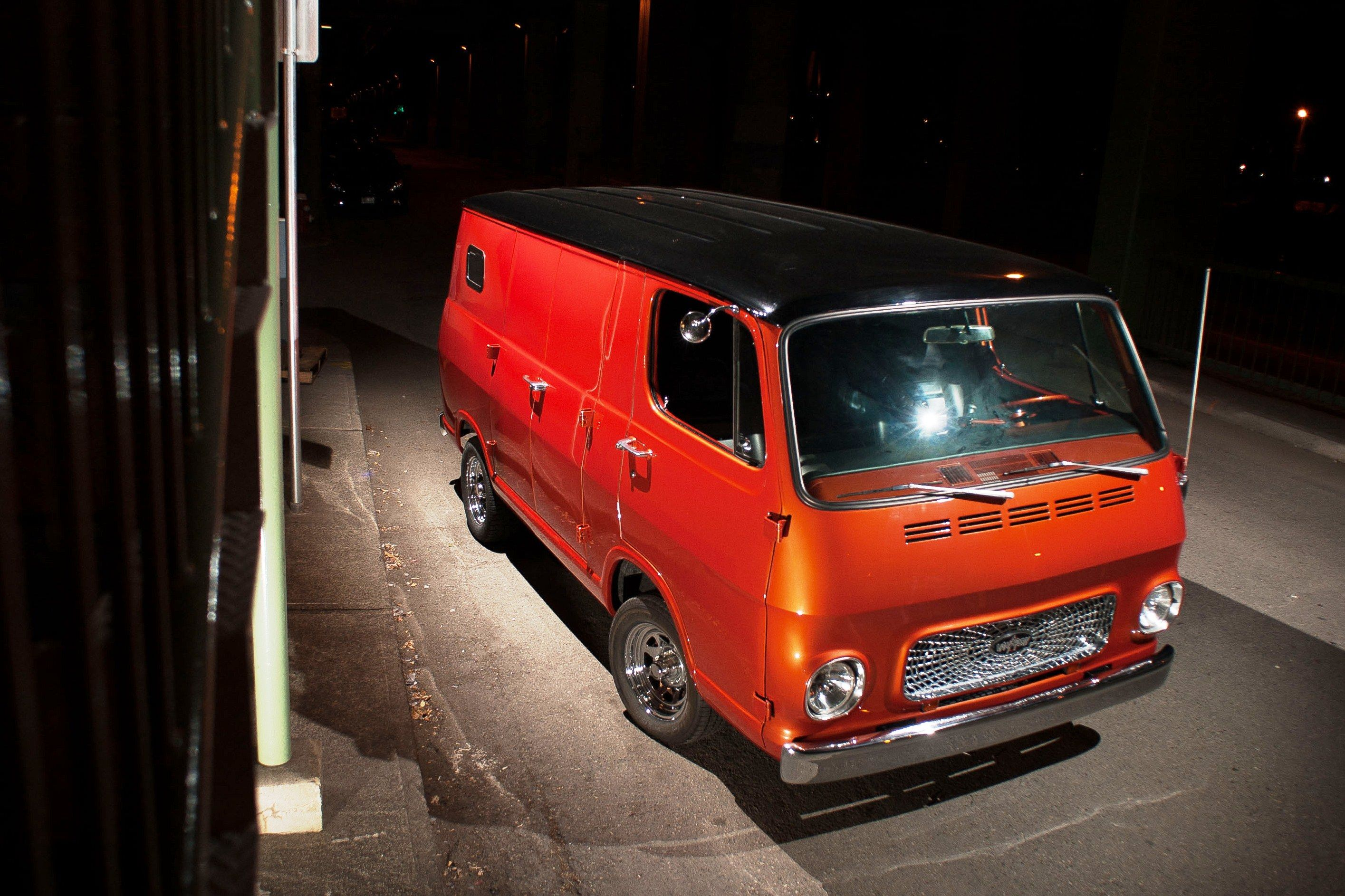 1967 Chevy Van aka #vanArchy | Chevy van, Vintage vans