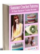 Free eBook with over 50 pages of summer crochet patterns