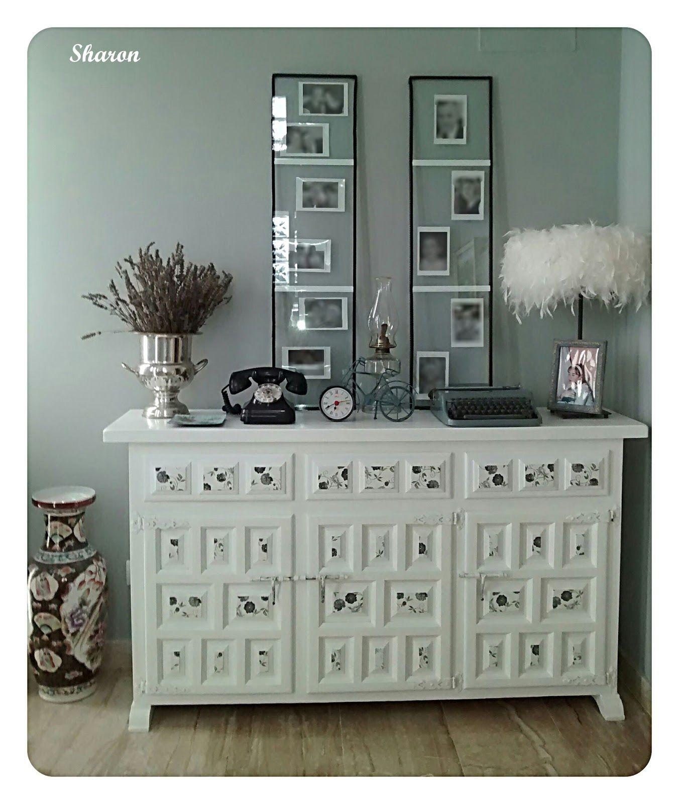 Mueble castellano pintado buscar con google muebles - Pintar muebles estilo vintage ...