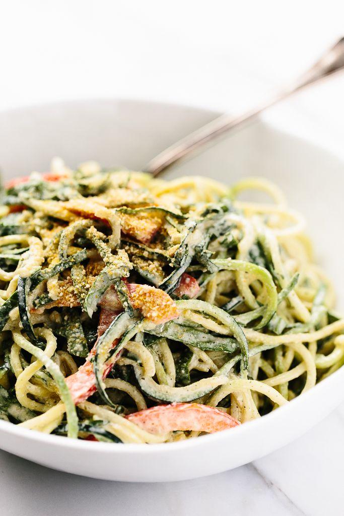 Raw vegan power zucchini pasta with hemp seed alfredo recipe raw vegan power zucchini pasta with hemp seed alfredo recipe zucchini pasta raw vegan and zucchini forumfinder Gallery