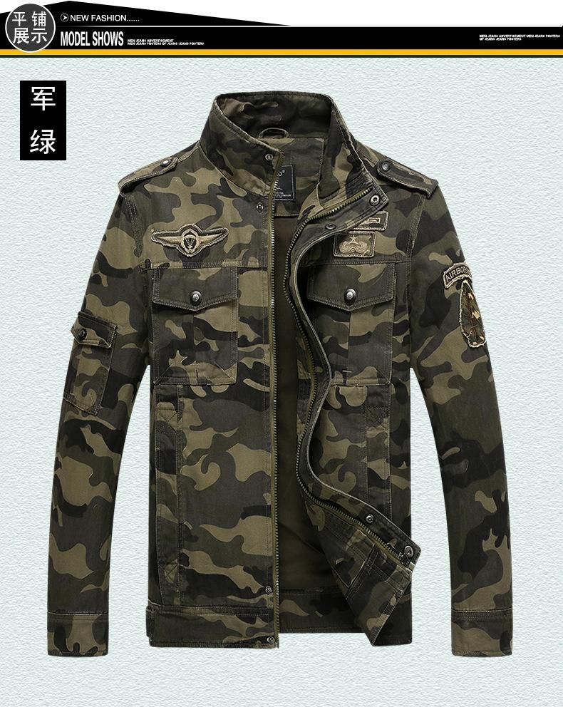 Item specifics Item Type:Outerwear & Coats Outerwear Type:Jackets Gender:Men Clothing Length:Regular Cuff Style:Conventional Closure Type:Zipper Hooded:No C