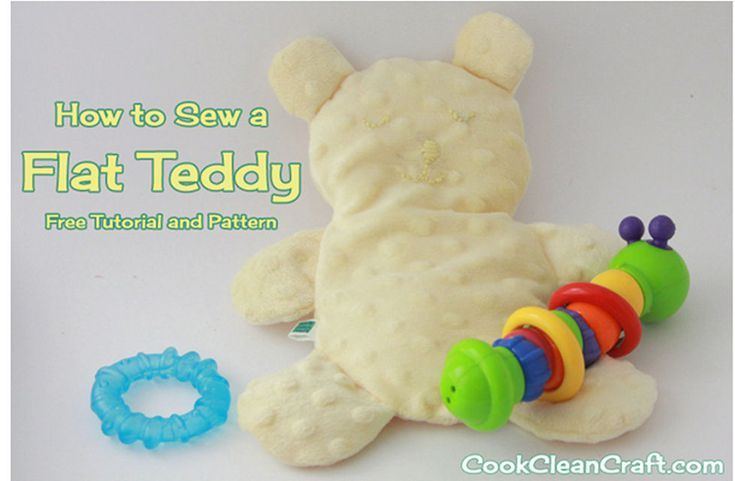 10 Adorable Teddy Bear Sewing Patterns | Sewing/Dolls & toys | Pinterest