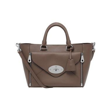 ... greece new willow colours mulberry small willow tote in taupe silky  classic calf with nickel f2ef0 3bc0dad2c7d46