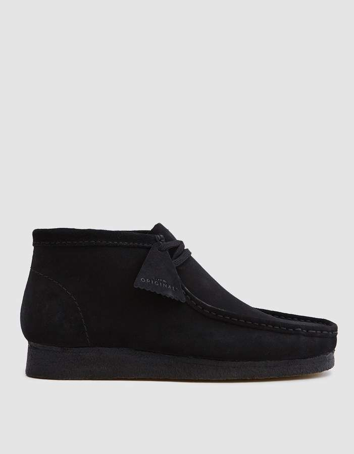 5ade6cc98a6 Wallabee Boot in Black Suede in 2019 | Products | Black suede shoes ...
