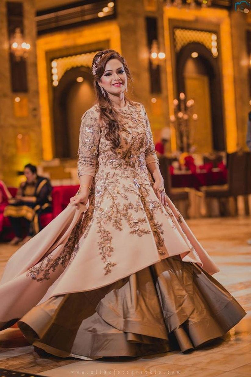 8 Styles That Work Well With Indian Evening Gowns For Wedding Reception Indian Evening Gown Wedding Evening Gown Indian Bridal Outfits