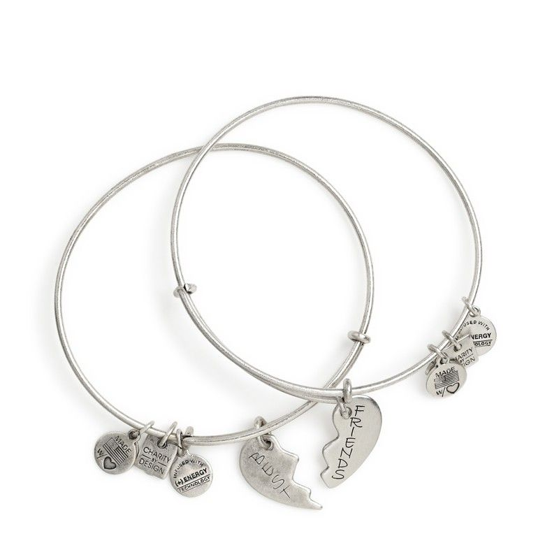 Best Friends Set Of 2 Charm Bracelets Alex And Ani I Really Want These For