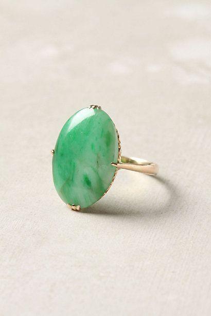 victorian jade ring...estate jewelry