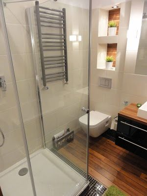 Drewno W łazience Drewniana Podłoga W łazience łazienka
