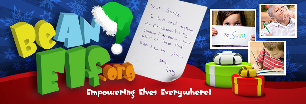 Help adopt needy children's letters to Santa. They'll