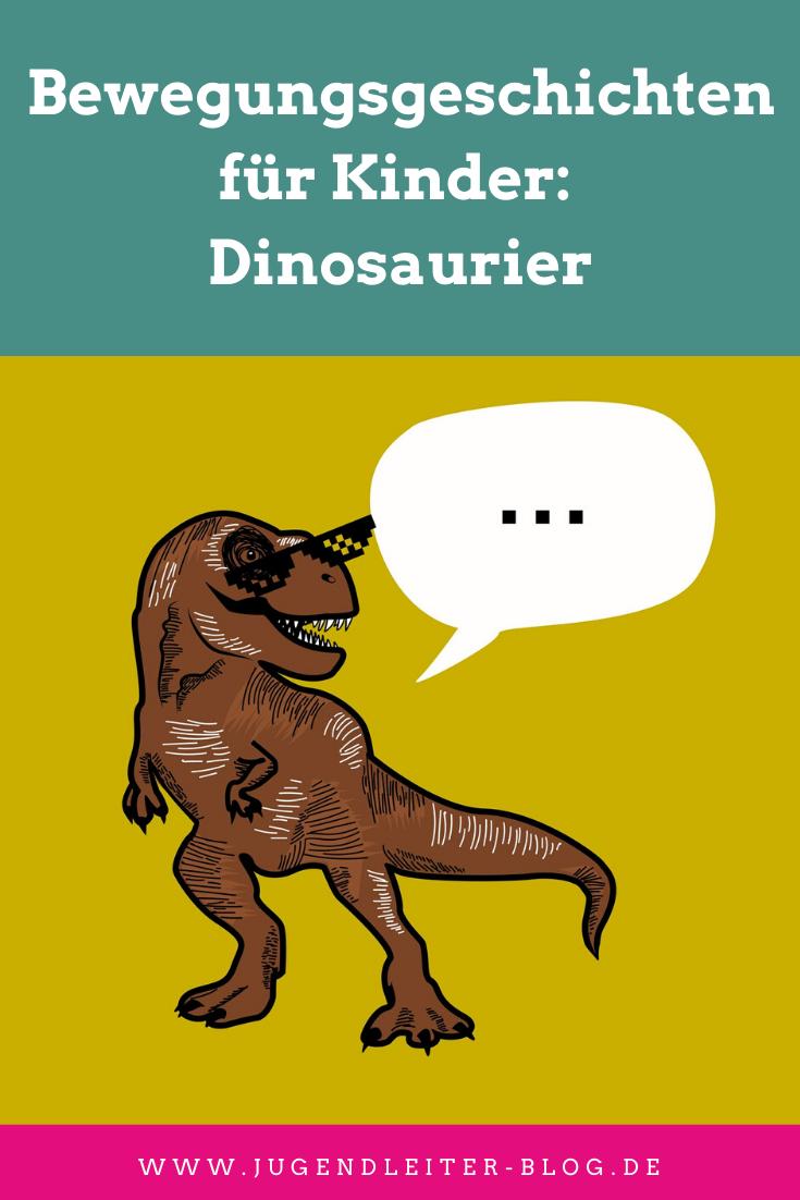 Bewegungsgeschichten für Kinder: Dinosaurier