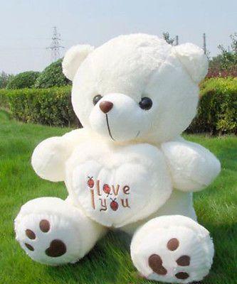 New Giant Plush Teddy Bear Soft Valentine Day Birthday Gift 27
