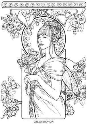 Floral Fairies Coloring Book   printables   Pinterest   Colorear ...
