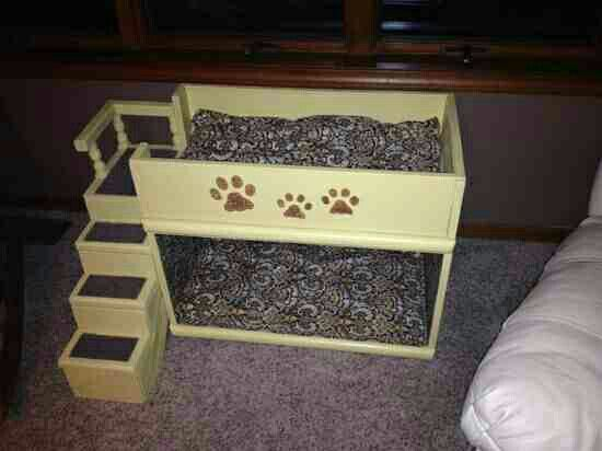 Dog Bed Re Purposed From Tv Stand