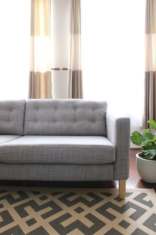 Make It Yours 5 Ways To Customize Your Ikea Sofa Apartment Therapy