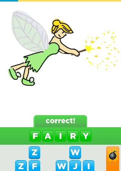 Draw something Tinker bell