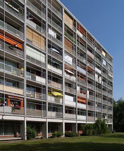 egon eiermann, hansaviertel housing, berlin 1954-1961