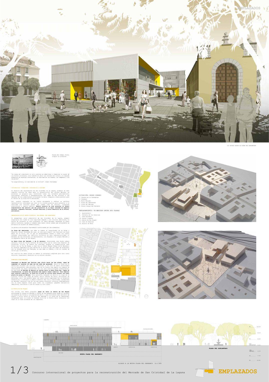 panel 11 EMPLAZADOS. 1er Premio. Concurso Internacional para la Reconstruccin del Mercado de La Laguna