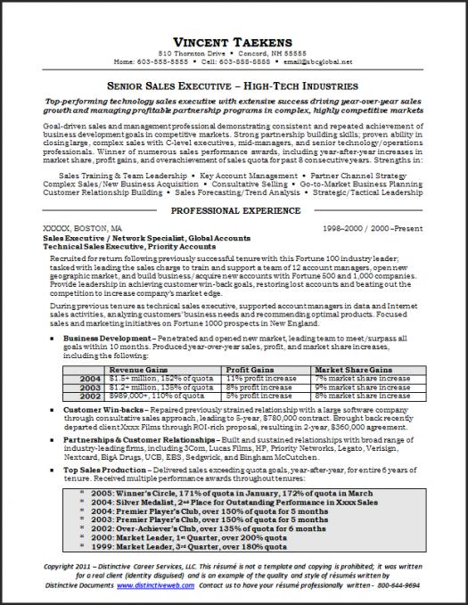 Sample Sales Resume Distinctive Documents Sales Resume Professional Resume Samples Medical Sales Resume