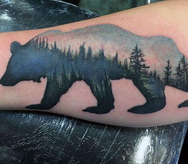 Bear Tattoos For Men Black Bear Tattoo Bear Tattoos Tattoos