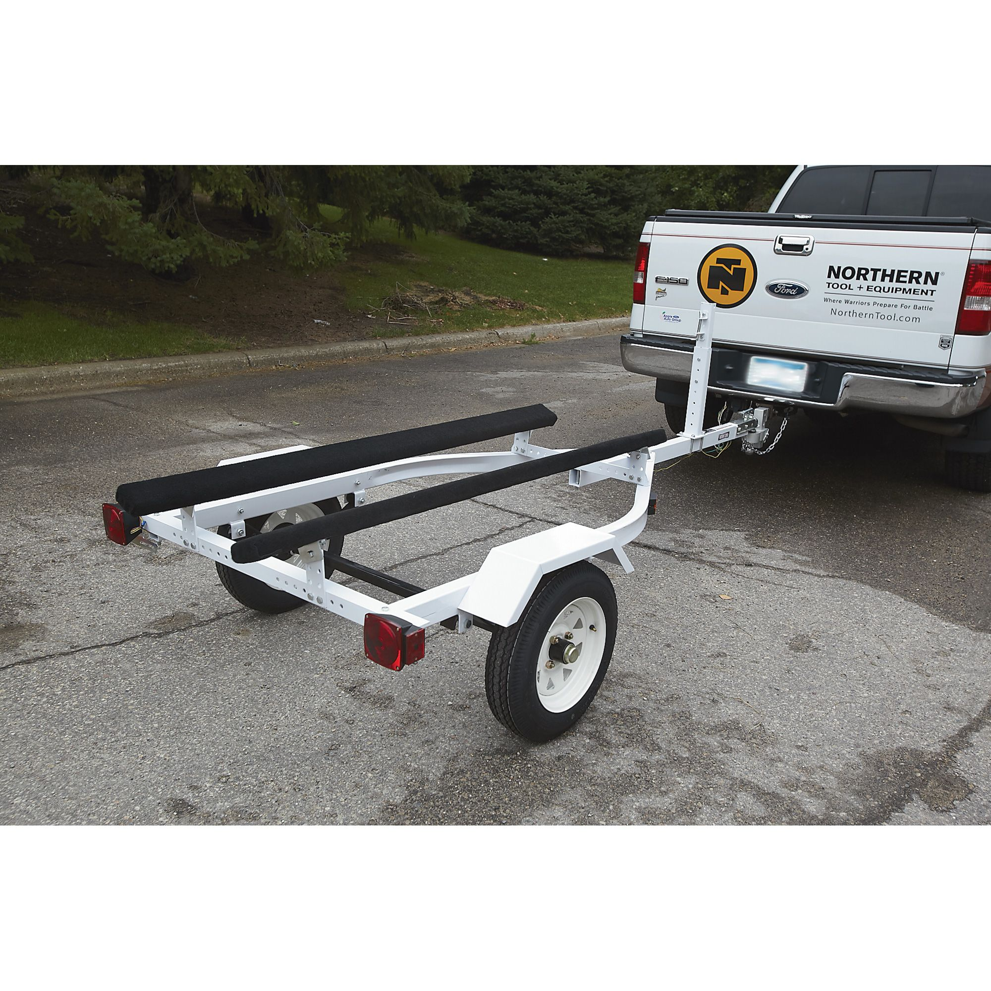 Ironton Jet Ski And Personal Watercraft Trailer Kit 610 Lb Load Boat Wiring Diagram Dot The Allows You To Easily Transport Unload Your
