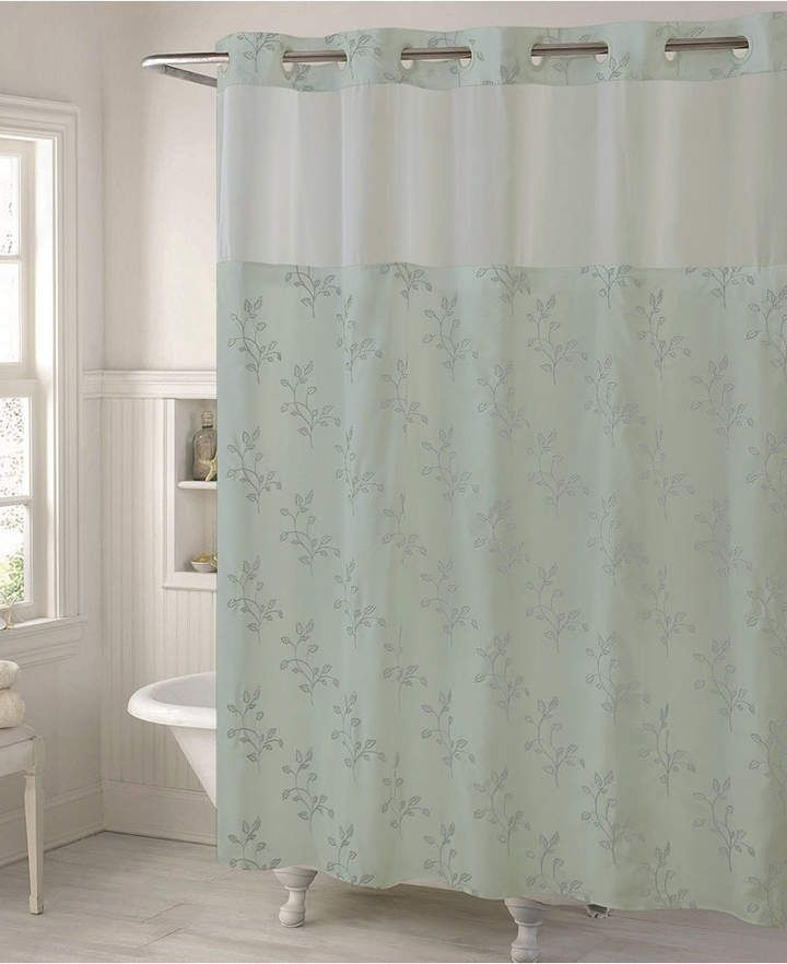 Hookless Spring Leaves 3 In 1 Shower Curtain Bedding Curtains
