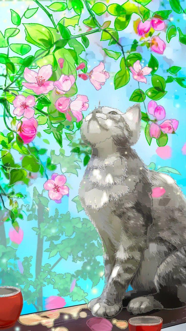 Epingle Par Sylvia Sur Coloriage Coloriage Fond D Ecran Chat Fond Ecran