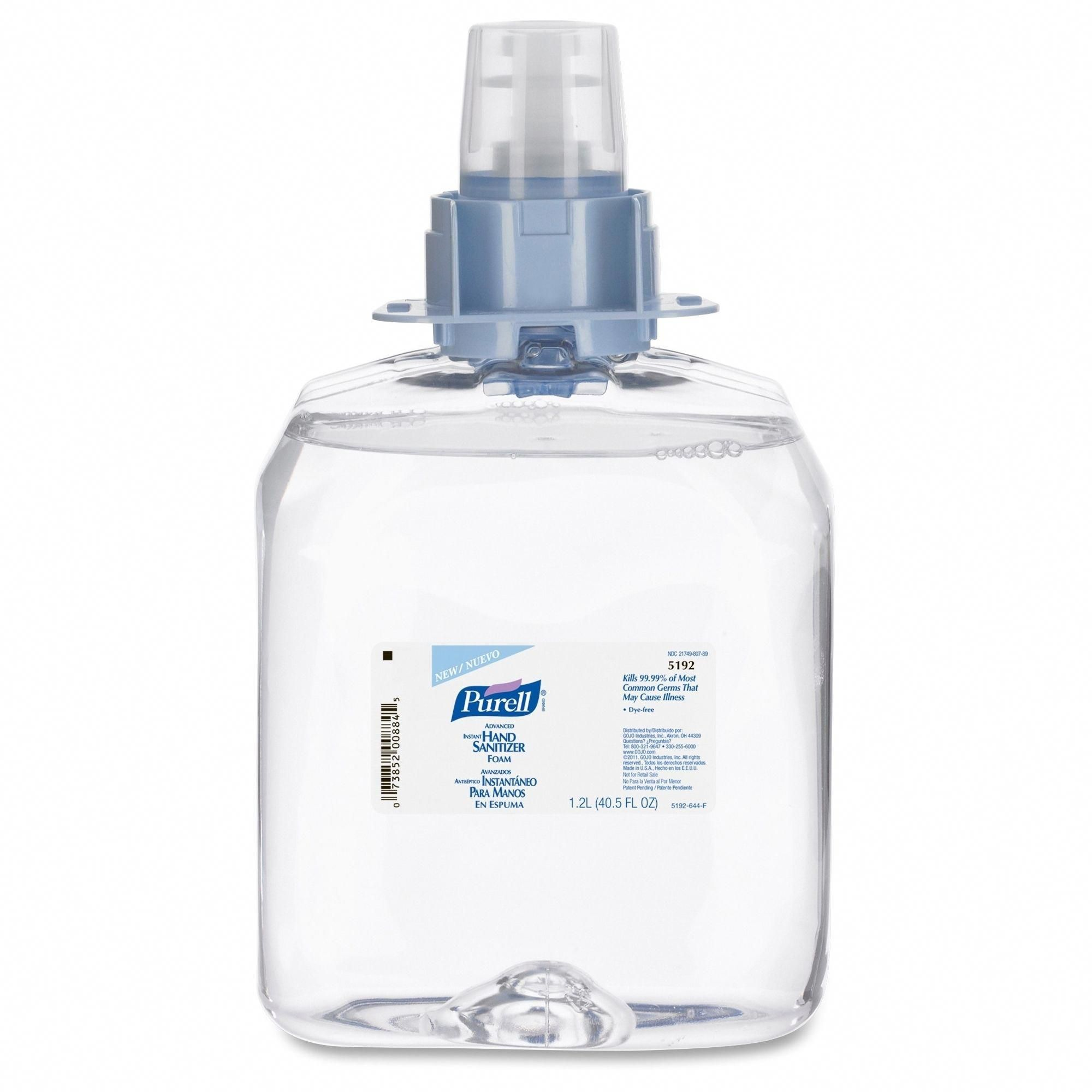Purell Instant Hand Sanitizer Foam Master Nailscare Hands