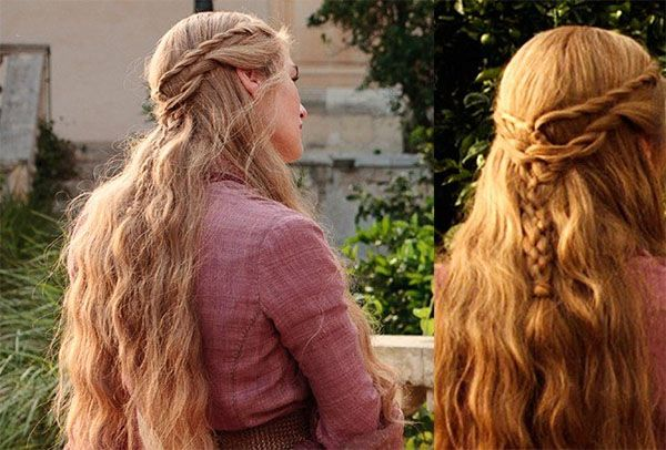 Game Of Thrones Hairstyles Cersei Lannister Rope Braid Hairstyle Tutorial Hair Romance Rope Braided Hairstyle Braided Hairstyles Tutorials Hair Tutorial