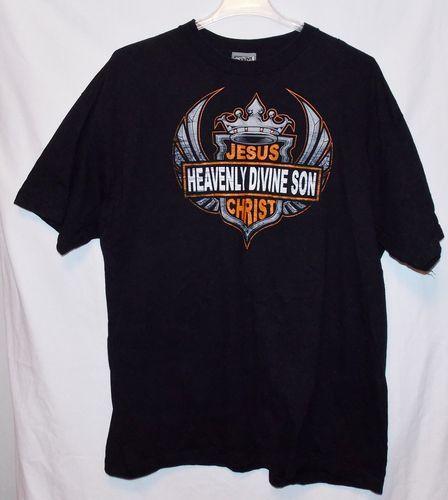 Jesus Christian Biker Tee Shirt Size 2XL Heavenly Divine Son Harley  Davidson | eBay